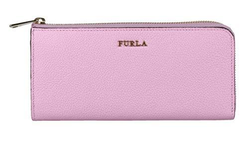 FURLA Geldbörse 928846 Portemonnaie Babylon XL Zip Around Leder Rosa hell, Größe ca.: 19,5 x 9,5 x 2,5 cm (B x H X T)