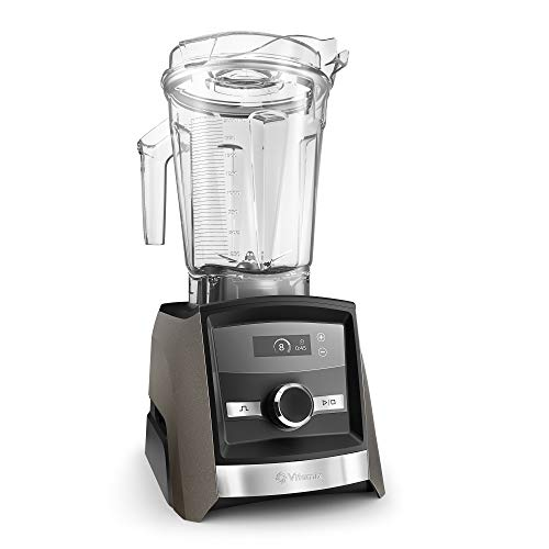 Vitamix Con A3300 Ascent Series Smart Blender, Professional-Grade, 64 oz. Low-Profile Container, Pearl Gray
