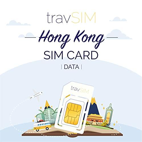 travSIM - Tarjeta SIM Prepaga Hongkong(SIM de Datos para-Hongkong) - 10GB de...