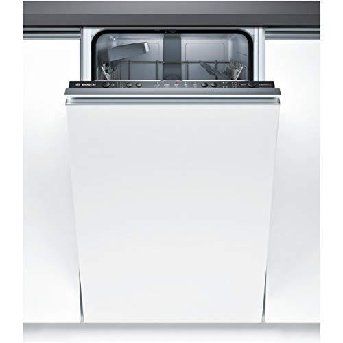 Bosch Serie 2vollständig integriertes spv25cx01e 9places A + Spülmaschine–Geschirrspülmaschinen (komplett integriert, Slimline (45cm), schwarz, Tasten, 1,75m, 1,4m)