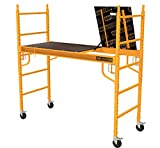 MetalTech Scaffold 6 ft. x 6 ft. x 2-1/2 ft. Baker Style 1100 lbs. Capacity