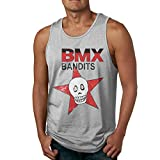 BMX Bandits Not Easy to Shrink Men's Tank Top Shirt Gray