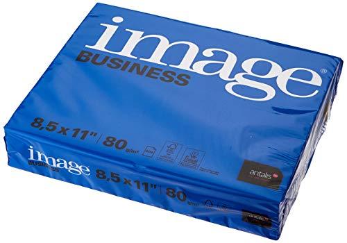 IMAGE usiness - Kopierpapier, 80g/m², US Letter, FSC mix 70% - 5 Pakete zu 500 Blatt, 215mm x 279mm, 461410
