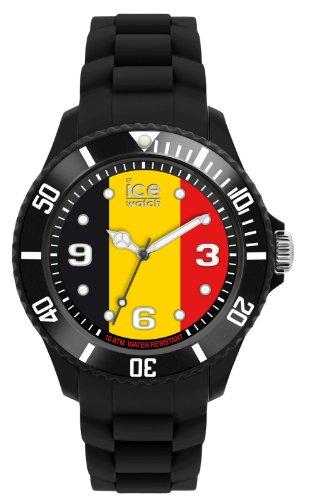 Ice-Watch WO.BE.B.S.12 - Reloj analógico de Cuarzo para Hombre con Correa de Silicona, Color Negro