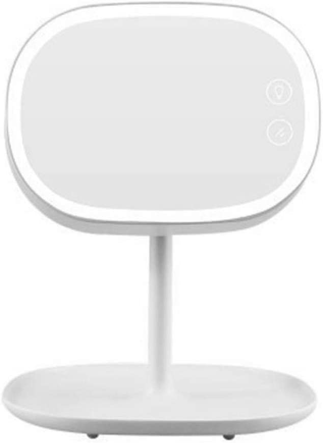 LED Cosmetic Mirror Double-Sided Max 47% OFF Ba Removable Storage Excellence