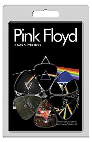 Perri's Leathers LP-PF3 Pink Floyd Guitar Picks, rosa