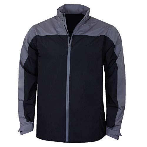 Callaway New Blockd Waterproof Jacket Blouson De Sport, Noir (Negro 002), Unique (Taille Fabricant: Medium) Homme