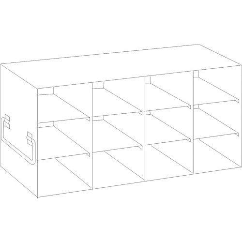 Crystal Technologies UF-43-L375 - Congelador vertical para cajas grandes de 9,5 cm de altura