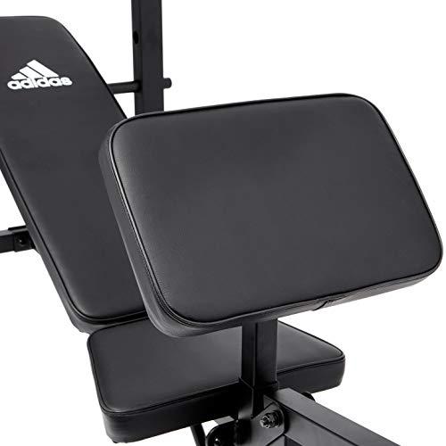 【Amazon.co.jp限定】adidas(アディダス)トレーニングエンセンシャルマルチワークアウトベンチADBE-10452筋トレ【家庭用】ADBE-10452