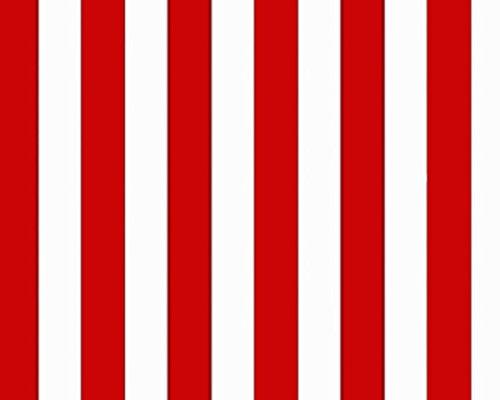 13045?Marimekko gestreift rot & weiß Galerie Tapete