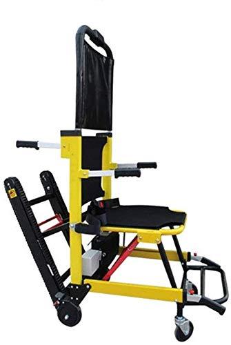 GLJY Silla de Ruedas Ligera/Plegable Silla de Ruedas eléctrica para Subir escaleras El chasis Elevador Inteligente Puede Subir y Bajar escaleras Personas Mayores con discapacidades