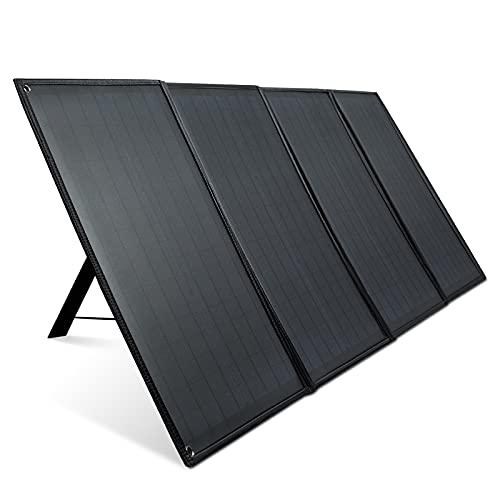 アイパー(Aiper) ソーラーパネル ソーラーチャージャー 100W 折りたたみ式 並列可能 光量表示 DC USB出力/保護回路搭載/防水QC3.0対応各種スマホ・ポータブル電源対応 キャンプ/地震/災害 BBQなどに適用 SP100