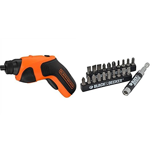 BLACK+DECKER 3.6 V Li-Ion Easy Access Screwdriver Set - 21 Piece