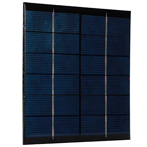 Módulo de placa de célula solar de polisilicio Mini panel solar de ahorro de energía 2,5 W 6 V para lámparas de juguetes solares