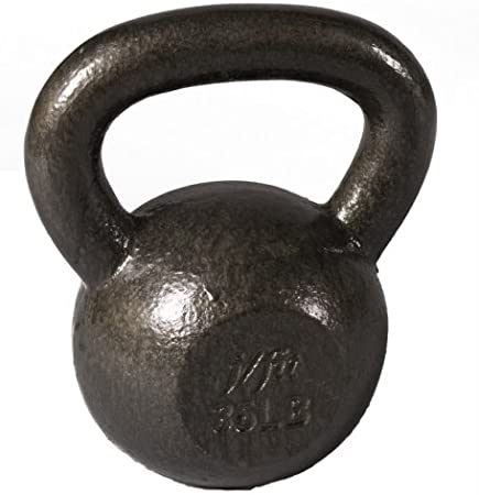 35 50-lb Weights 30 Solid Iron For Cardio Workouts Extreme Training and More Ergonomic Handle For Sturdy Grip Fat Loss Perfect Weight Distribution 40 j//fit Kettlebell Weights No Fillers Fitness Exercises