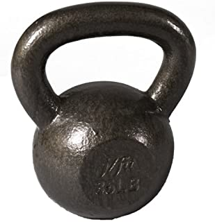 j/fit Kettlebell Weights | Solid Iron - No Fillers | Ergonomic Handle For Sturdy Grip | Perfect Weight Distribution | For ...