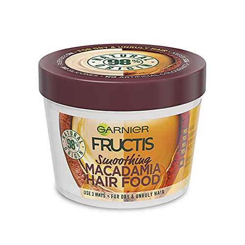 Garnier Fructis Hair Food Smoothing Macadamia For Dry and Unruly Hair 390ml