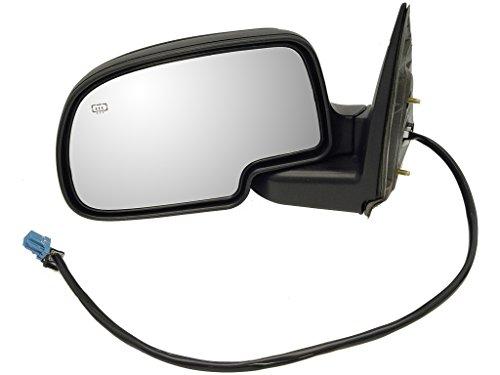 Dorman 955-1276 Driver Side Power Door Mirror - Heated/Folding for Select Chevrolet/GMC Models, Black
