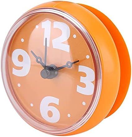 unisex Facibom Waterproof Shower Clock Round service 7cm Face Suction Diameter