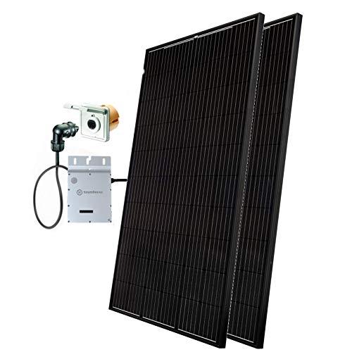 Minisolar Balkon Solar Mono Duo 620 W inkl. Einspeissteckdose