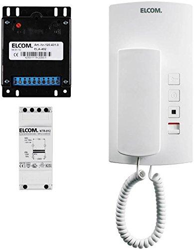 Elcom Audio-Einbaukit AEK-1 universal Türsprech-Set 4250111820011