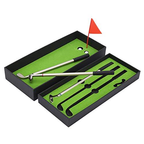 DAUERHAFT Juego de Escritorio de Pelota de Golf, diseño de Campo Exquisito portátil, para Golfista