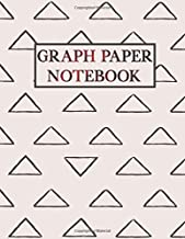 Graph Paper Notebook: Cute Pattern Composition Notebook for Students Quad Ruled 4 squares per inch: Math and Science 100 Sheets (Large, 8.5 x 11) Grid Paper Notebook