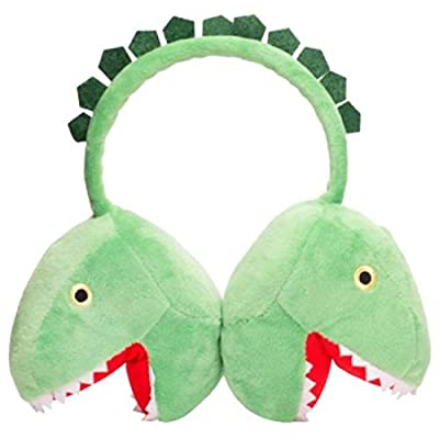 Plush Dinosaur Headphones