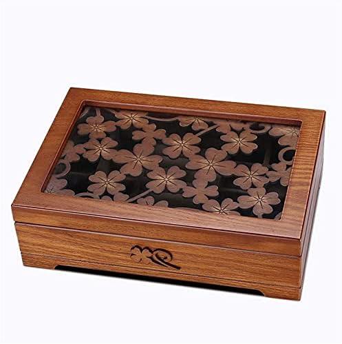 SSHA Jewlery Box Wooden Storage Case Cheap SALE Start Jewellery Je Max 61% OFF