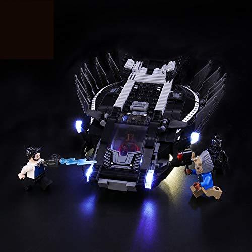 Kit De Iluminación Led para Lego Super Heroes Royal Talon Fighter Attack, Compatible con Ladrillos De Construcción Lego Modelo 76100 (NO Incluido En El Modelo)