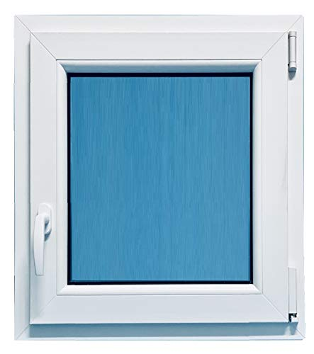 (V25T) Finestra PVC richiudibile oscillante destra 800 x 1000 1 ventaglio Nombre