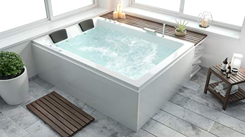 emotion Zeus Riesen-Indoor-Spa Premium Links (190x140x66) cm