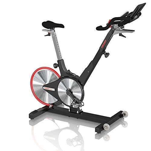 Keiser Indoor Cycle M3i - Bicicleta estática para Adultos, Color Negro Mate