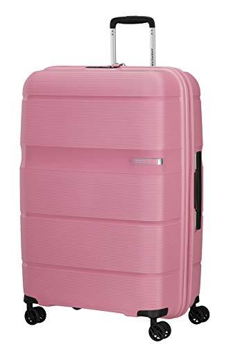 American Tourister Linex - Spinner S, Equipaje de mano, 55 cm, 34 L, Rosa (Watermelon Pink)