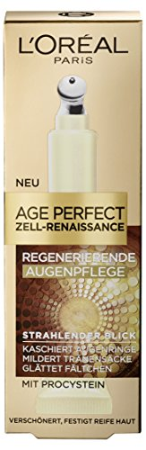 L\'Oreal Paris Age Perfect Zell Renaissance Augenpflege gegen Augenringe und Tränensäcke, 15 ml