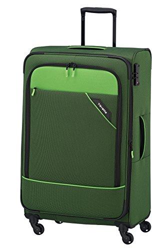 Travelite Derby Rollkoffer, klassisch, robuster und leichter Weichgepäck Trolley mit 4 Rollen in 4...