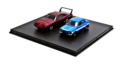 Greenlight Collectibles - 86251 - Dodge - Chargeur Daytona Et Ford Escort - Fast and Furious - Échelle 1/43