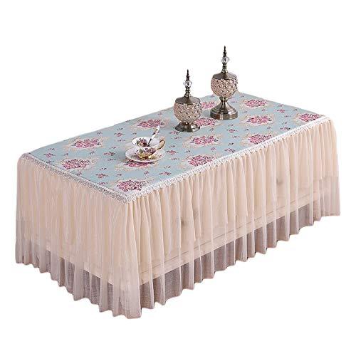 Shaoyao Mantel Rectangular para Mesa Antimanchas Lavable Decorativo para Cocina Comedor Patio Cafetería Fiesta Picnic 06 80 * 140