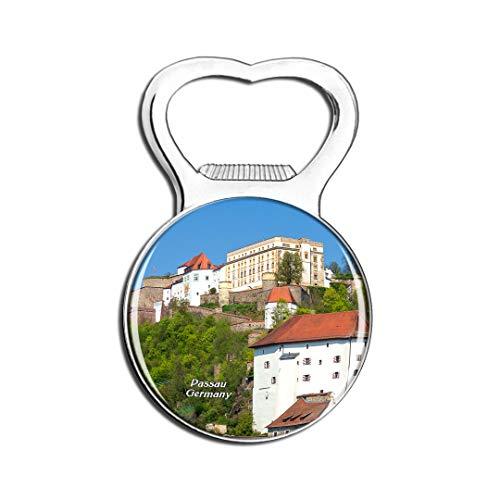 Weekino Deutschland Veste Schloss Passau Kühlschrankmagnet Bier Flaschenöffner Stadt Reise Souvenir Sammlung Starker Kühlschrankaufkleber
