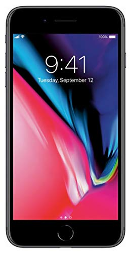 Apple iPhone 8 Plus, 256GB, Space Gray - For AT&T / T-Mobile (Renewed)