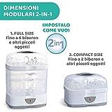 Zoom IMG-2 chicco sterilnatural sterilizzatore biberon 2in1