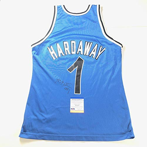 Penny Hardaway signed Champion jersey PSA/DNA Autographed Anfernee Magic - Autographed NBA Jerseys