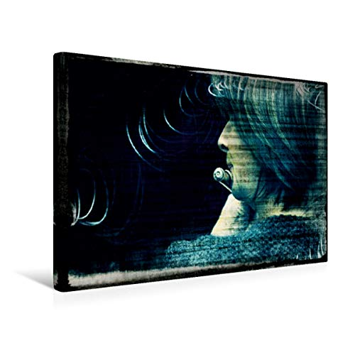 CALVENDO Lienzo Premium de 45 cm x 30 cm Horizontal, Flauta travesera, Imagen sobre Bastidor, Lienzo de Calidad, impresión en Lienzo: Instrumento de Viento (calvento Arte), Arte