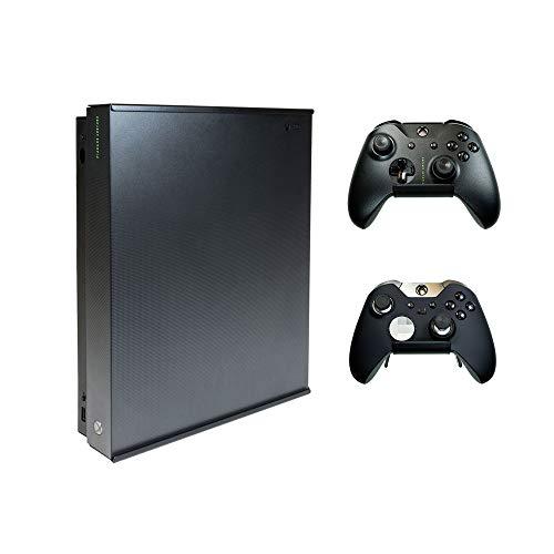 HIDEit X1X Wandhalterung für Xbox One X (Xbox One X Bundle) – HIDEit hinter dem Fernseher oder Display – hergestellt in den USA und weltweit seit 2009