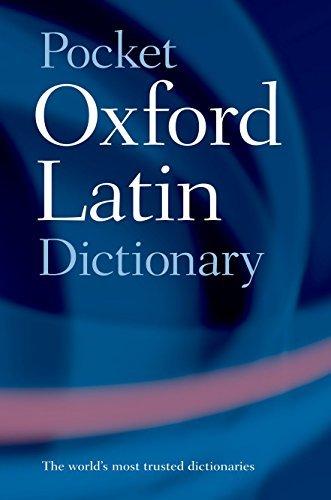 Pocket Oxford Latin Dictionary 3rd (third) Edition (2005)