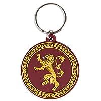 GAME OF THRONES ゲーム・オブ・スローンズ (10周年) - Lannister/ラバー・キーリング/キーホルダー 【公式/オフィシャル】