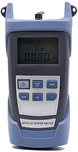 YAYY multitester 10 MW AUA-80A handheld-prestatiemeter rood licht fiber fakkel test machine glasvezel kabeltester visuele probleemdiagnose grijs (upgrade)