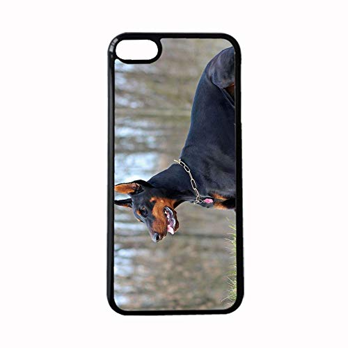Printing Doberman Pinscher Dropproof Plastics Phone Case Girl Compatible Iphone 7 Plus 8Plus 5.5Inch Choose Design 117-5