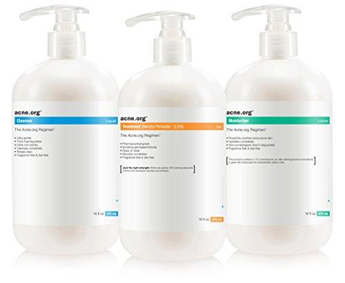 The Acne.org Regimen - Complete Acne TreatmentBig Kit