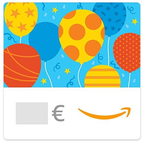 Digitaler Amazon.de Gutschein (Geburtstagsballons)